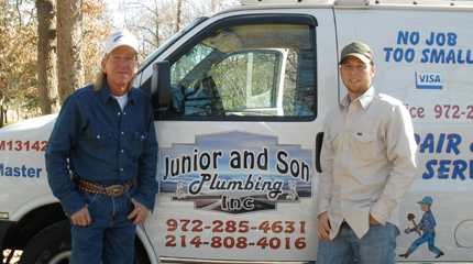 Junior and Son Plumbing - Homestead Business Directory